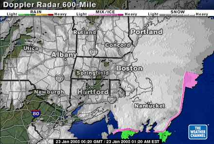 doppler, blizzard of 2005