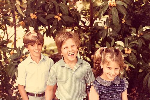 levine kids, circa 1979