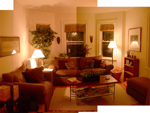 our brookline living room