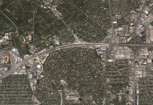 my childhood, courtesy of flickr and google maps