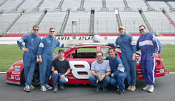 all of us with dale jr's car
