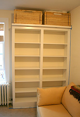 New bookshelves!